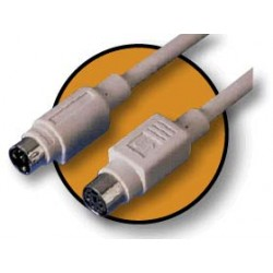 Cable Kablex PS2 Macho / PS2 Hembra 5M