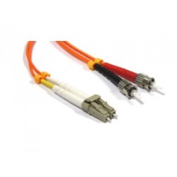 CABLE KABLEX FIBRA OPTICA LC / ST MULTIMODO DUPLEX 50 / 125 2M