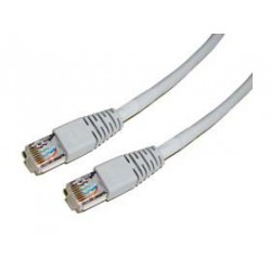 CABLE KABLEX RED RJ45 CAT 5 1M GREY STP
